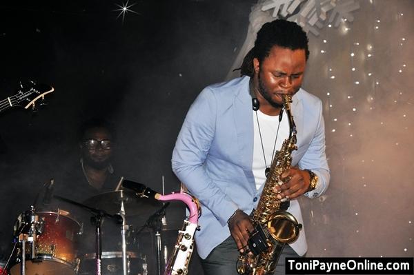 Yemi Sax on Stage