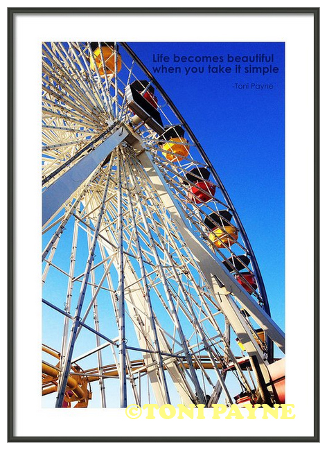Canvas Print (Frame not Included) - Life Becomes Beautiful