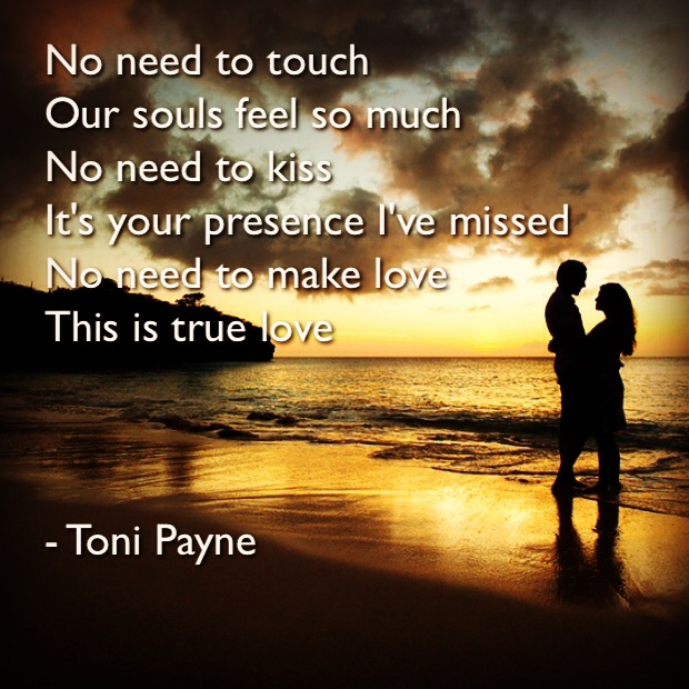 Toni Payne Quotes about Love 1