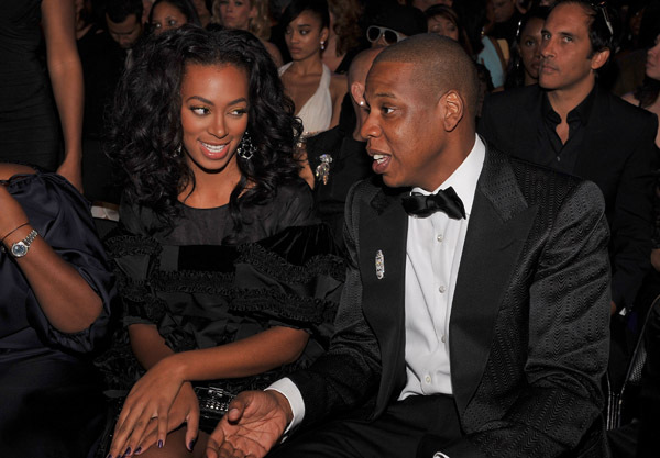 jay z and solange