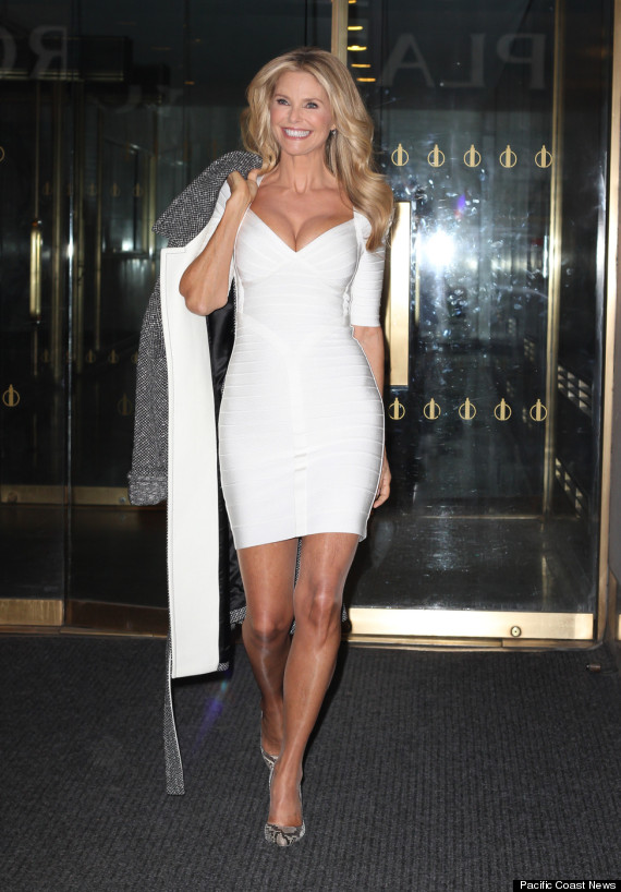 Christie Brinkley seen all smiles while leaving the NBC's 'Today' show in New York City