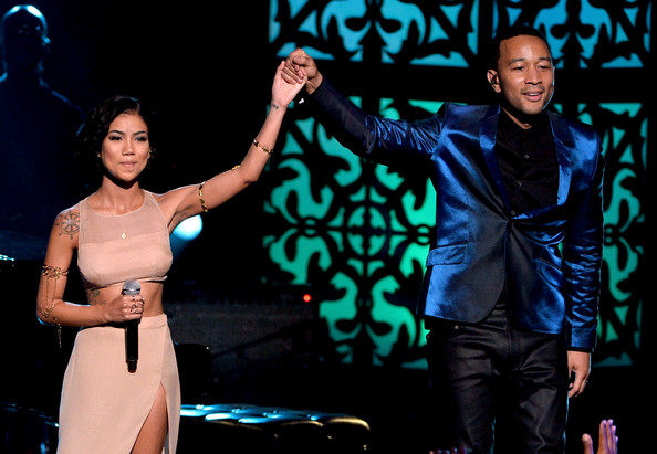 jhene aiko John+Legend+BET+AWARDS