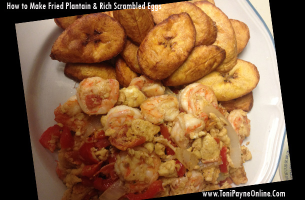 Tonights-Dinner-Fried-Plantain eggs