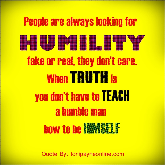 Quote about Humility