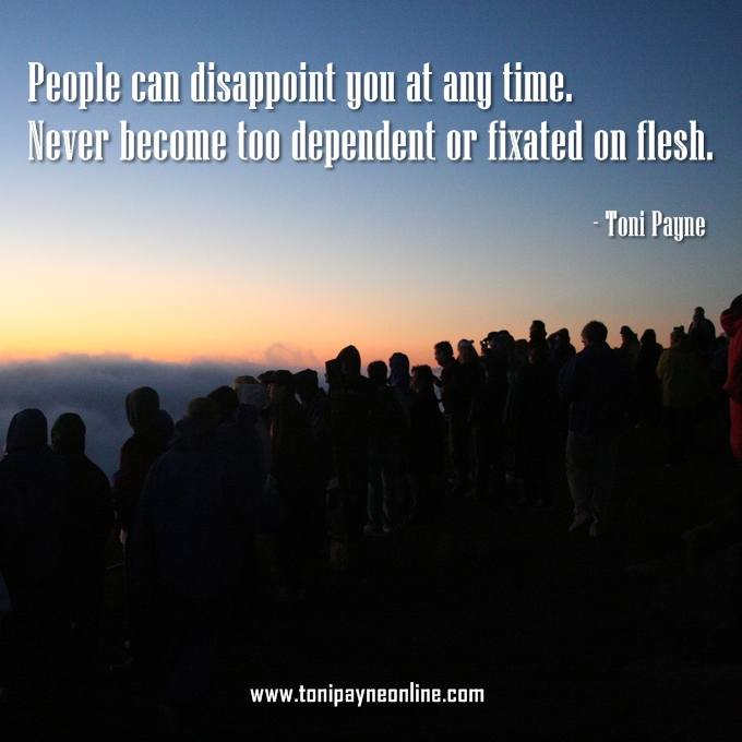 Quote - People Can Dissapoint you