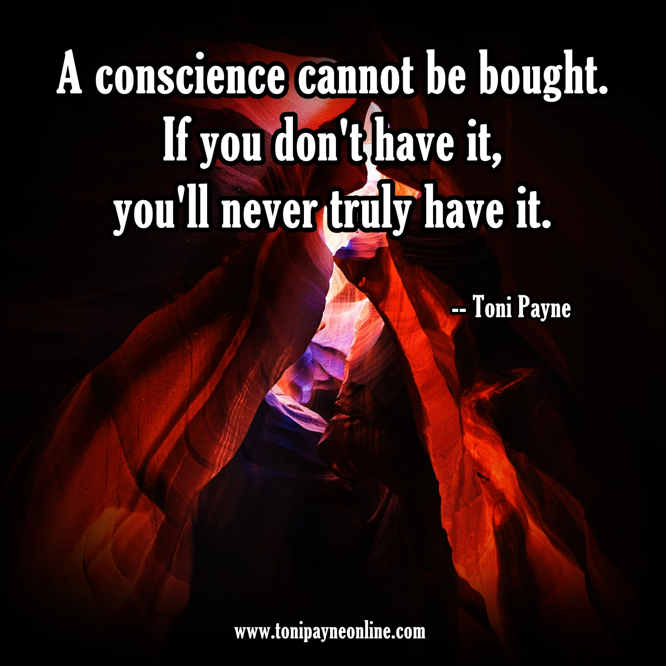 Quote about Conscience - A conscience cannot be