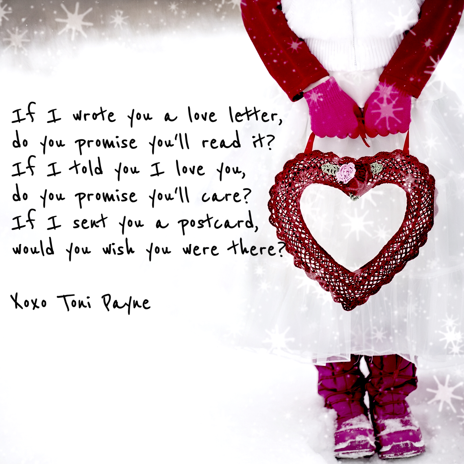 if I wrote you a love letter quote