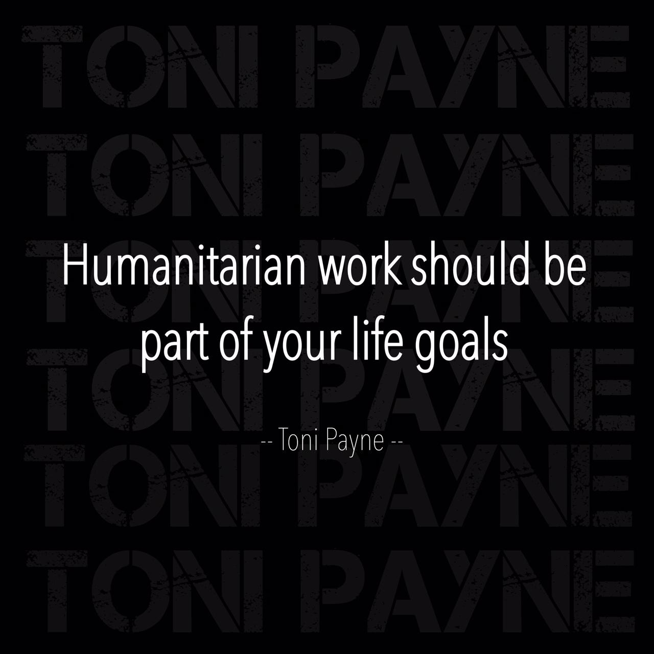 humanitarian work quote