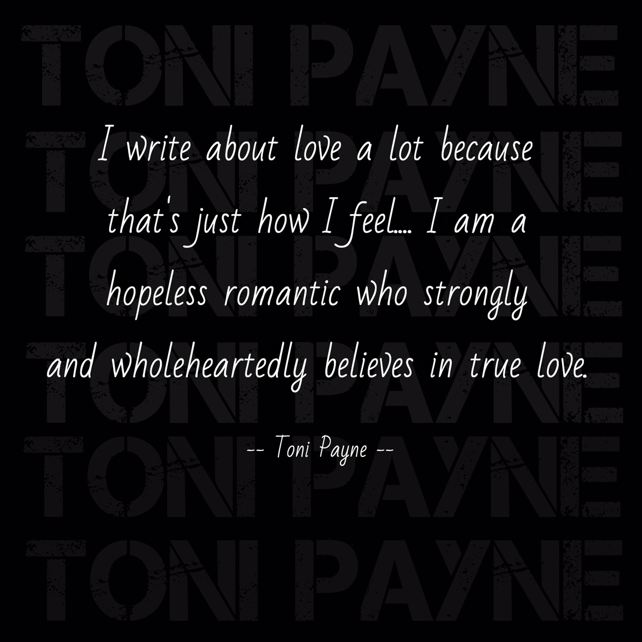 love quote i write a lot about