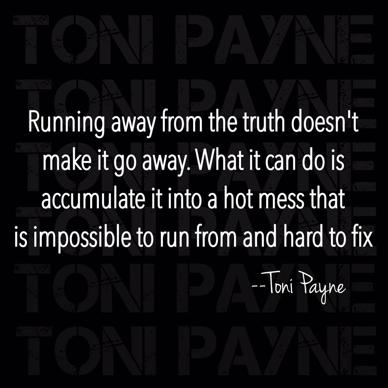 running away quote