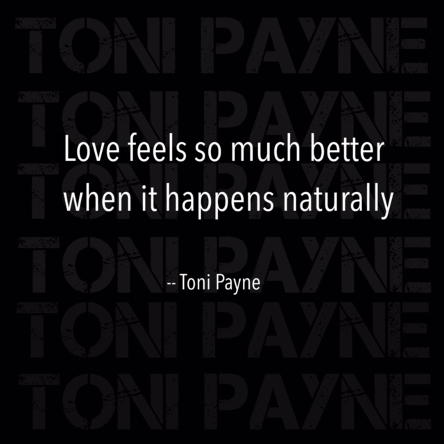 Quote about letting love happen naturally