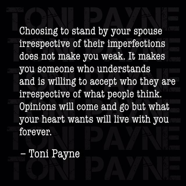 toni payne marriage quotes