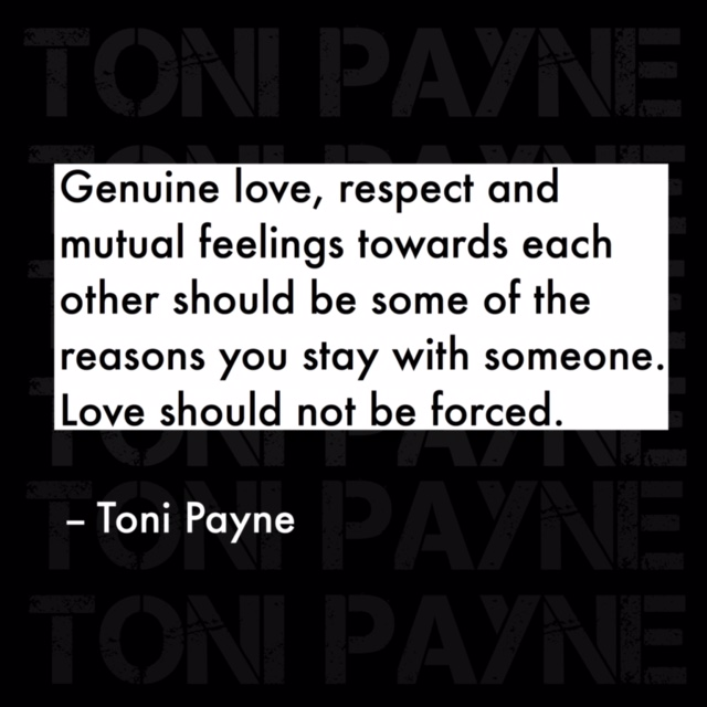 Quote about Love and why you should stay in love with someone