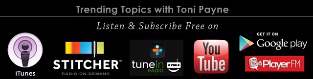 Subscribe to Podcast Trending Topics with Toni Payne