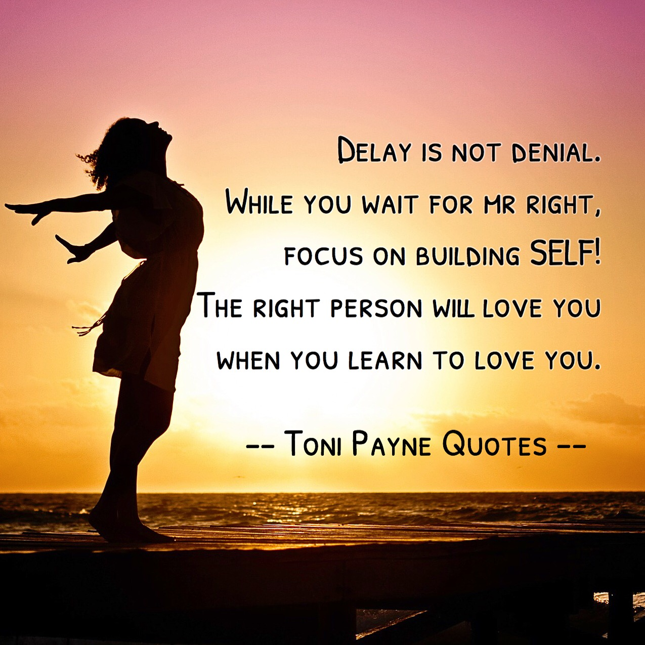 quote about waiting for mr right