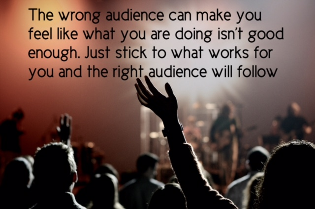 Business Quote about marketing to the wrong audience