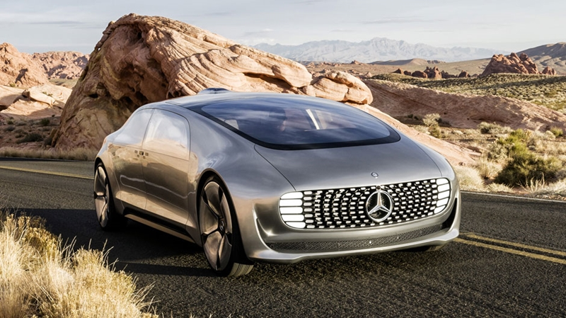Mercedes-Benz F 015 Concept Car - Video and Pictures 2