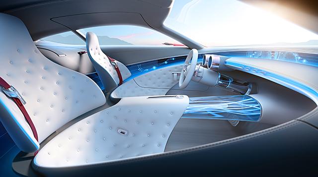 Vision Mercedes-Maybach 6 4