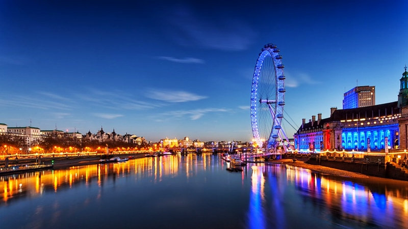 top travel destinations london eye