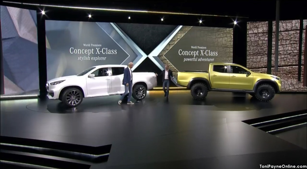 Pictures of the Mercedes-Benz Pickup Truck
